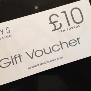 Gift Voucher (£10 Voucher)